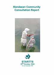 Mandaean Consultation Report Cover Portrait