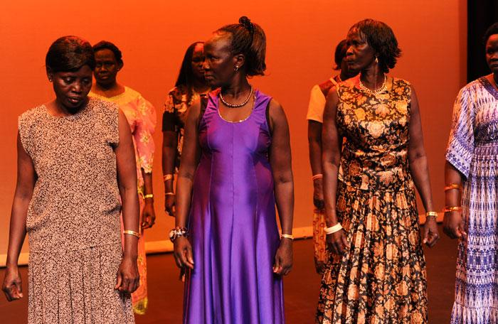 South Sudanese Womens Choir