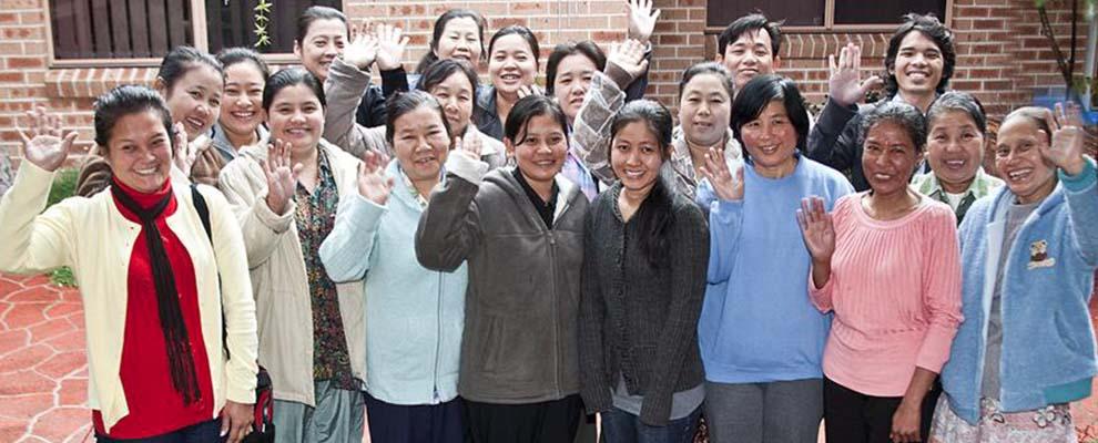 Vietnamese Womens Group Slider