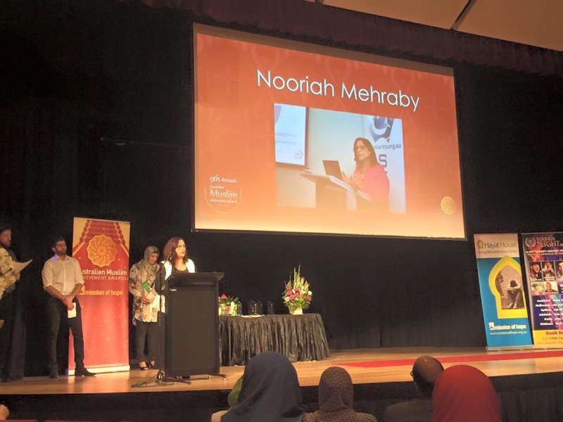 STARTTS Clinical Trainer Awarded Professional Of The Year Title At Australian Muslim Achievement Awards.