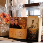 A selection of silent auction prizes