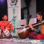 Tamil performers - veena and percussion